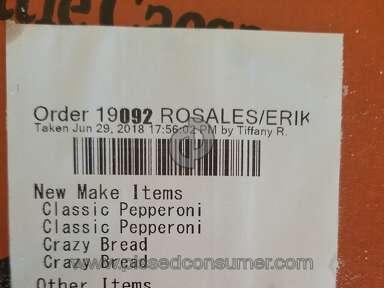 Little Caesars - Rude Manager incorrect order