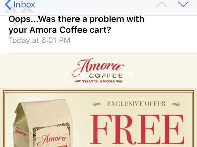 Amora Coffee - No Way