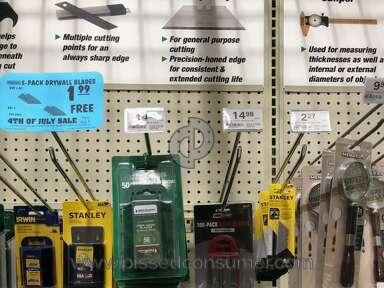 Menards - Wrong price tag