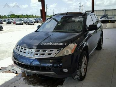 Copart Auto Auction 2004 Nissan Murano Car review 160746