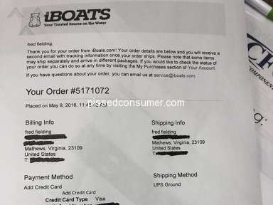 Iboats - Credit card fraud
