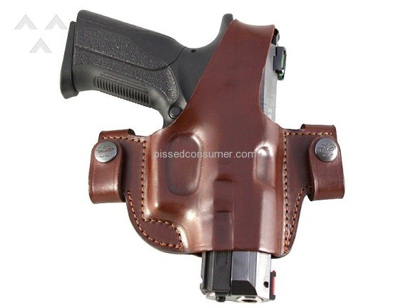 Craft Holsters Side Snap Holster
