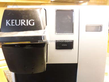 Keurig - Yes, they are a piece of ***.