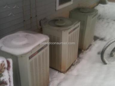 HMS Home Warranty - Heating Unit that doesn't heat above 55 degrees