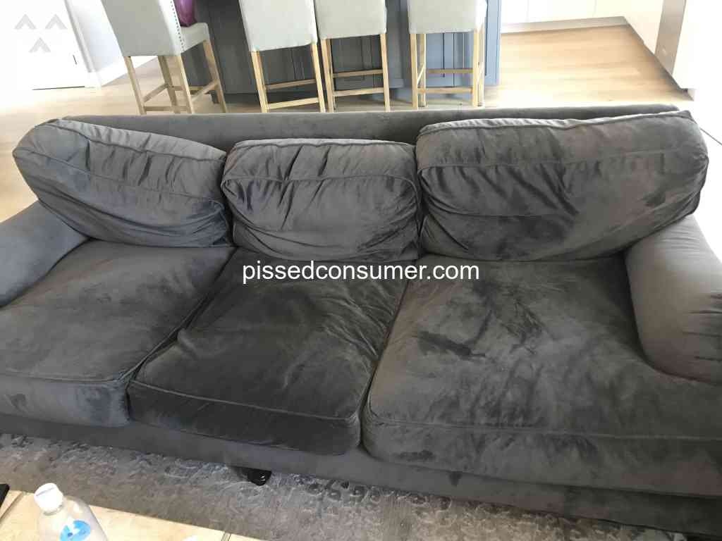 86 Living Spaces Sofa Reviews And Complaints Pissed Consumer