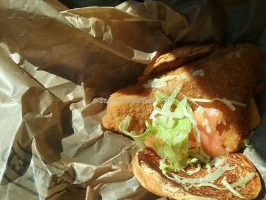 Arbys - Crispy Fish Sandwich Review