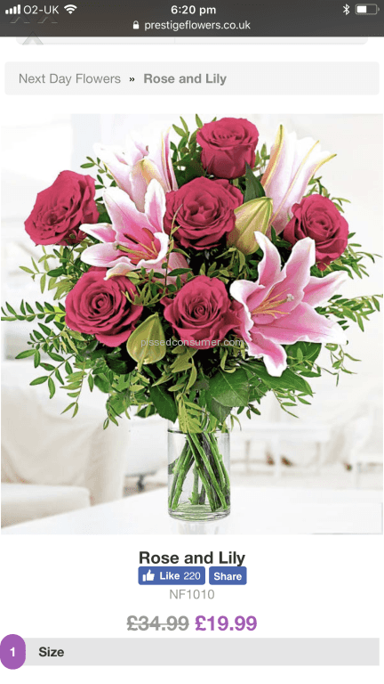 9 Prestige Flowers Rose And Lily Bouquet Reviews and Complaints ...