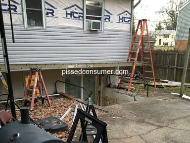 HomeFix Custom Remodeling - Non-existent customer service/communication