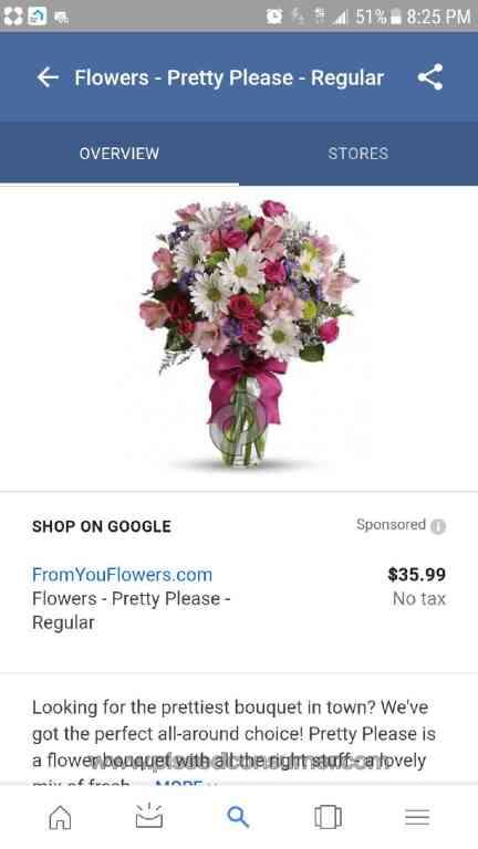 1 teleflora pretty please bouquet review pissed consumer teleflora false advertising mightylinksfo