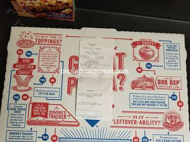 Dominos Pizza Fast Food review 297270