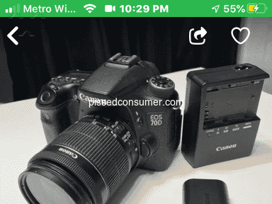 OfferUp Canon Camera review 678213
