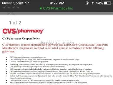 Cvs Pharmacy - Couponing