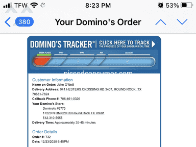 Dominos Pizza Manager review 860720