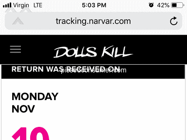 Dolls Kill - Im highly upset reguarding the returns and no store credit due