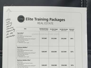 Legacy Education Alliance Elite Training Seminar review 148846