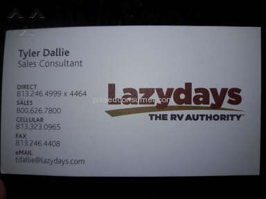 Lazydays Rv Center - Review in Dealers category