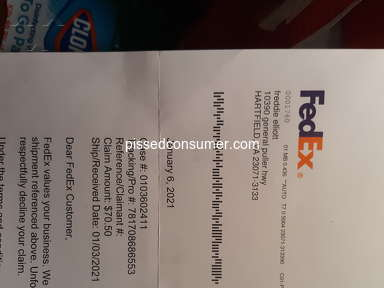 FedEx Ground Delivery Service review 877654