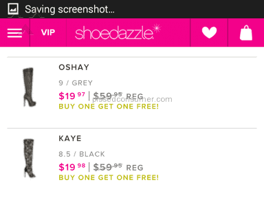 Shoedazzle - Boots Review from Bellevue, Washington