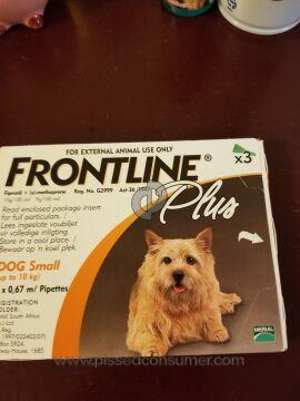 Merial Frontline Plus Flea Control
