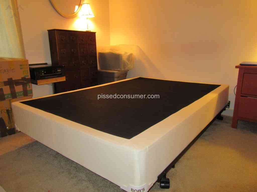 resolved bobs discount furniture mold underneath bob o pedic apr