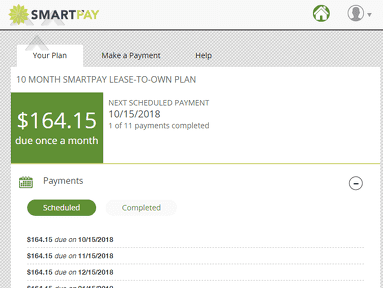 SmartPay Leasing - Please stay away from SmartPay, like the plague