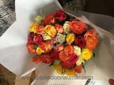 Prestige Flowers - False advertising