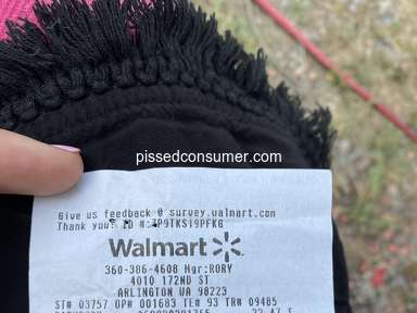 Walmart Customer Care review 746371