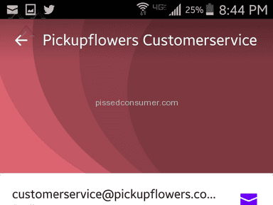 Pickupflowers - Flowers Review from Mount Laurel, New Jersey