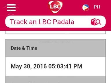 Lazada Philippines Lbc Express Delivery Service review 137729