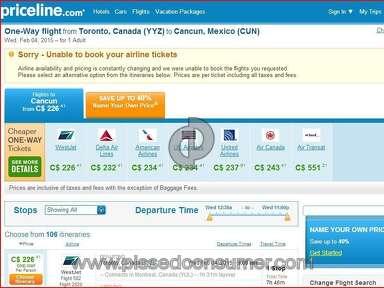 Priceline Travel Agencies review 56151
