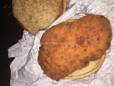 Wendys - Disappointed