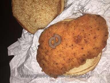 Wendys Spicy Chicken Sandwich review 243690