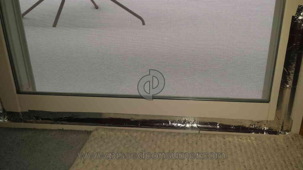 1 Alside Window 6100 Door Review Pissed Consumer Alside Window 6106 Alside  Ultramaxx Slider Patio Doors