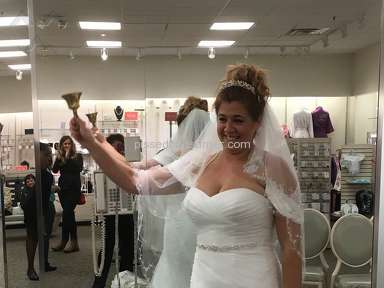 Davids Bridal - Sales Representative Review from Fraser, Michigan