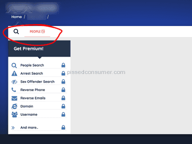 REMOVAL LINK DOES NOT FULLY DELETE YOUR INFORMATION FROM DATABASE - SpeedyHunt / PeepFind / DiscoverThem Removal Link (removal.php)
