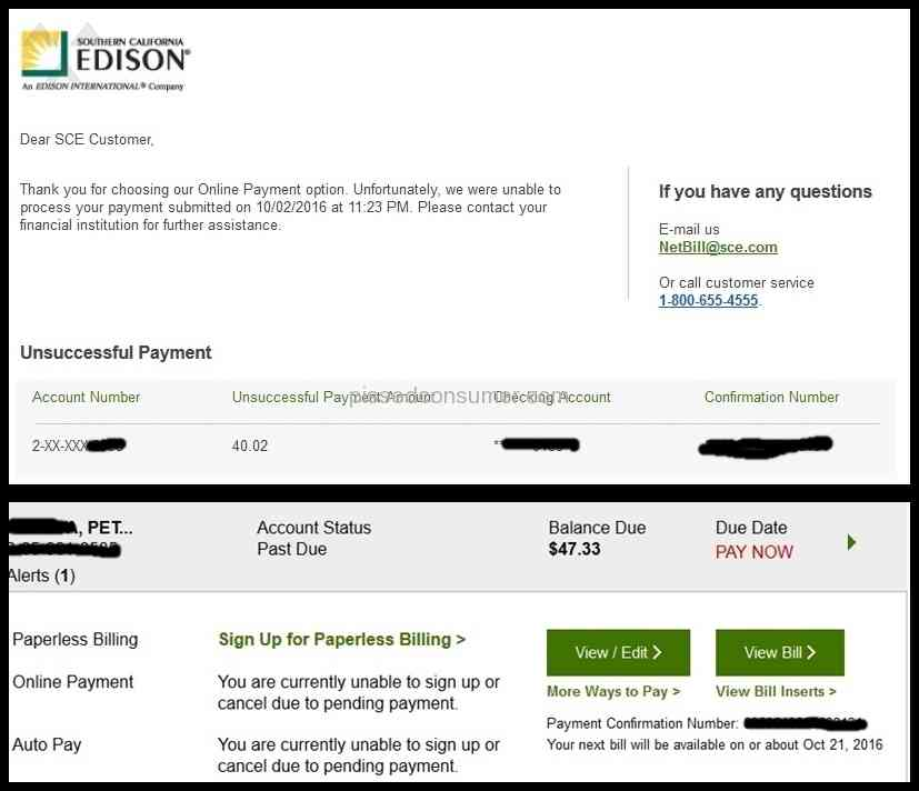Southern california edison pay online