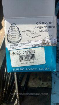 Empi 86-2174D Cv Boot Kit