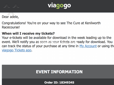Viagogo South Africa - PISSED OFF COMPLETELY ROBBED ME!!!!