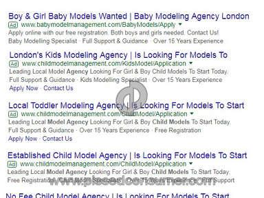 Babymodelmanagement Com - Babymodelmanagement.com MODEL AGENCY SCAM
