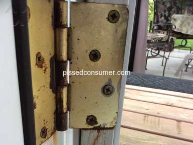 Masonite - Rotting doors