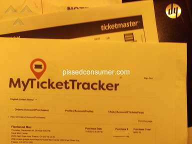 Mytickettracker, fast and accurate