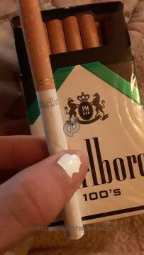 Marlboro Black Menthol Cigarettes