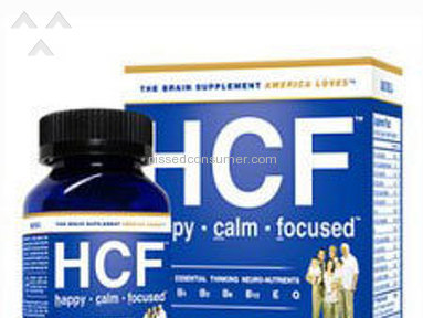 Happy Calm Focused - HCF is a Waste OF MONEY