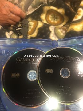 Warner Bros Game Of Thrones Dvd
