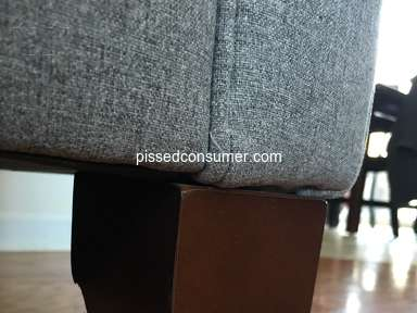 Art Van Furniture - New Couch Concerns