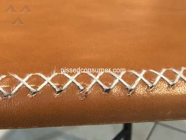 Rejuvenation - Bad quality leather chairs