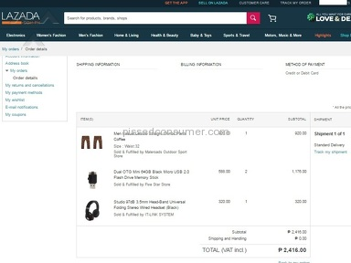 Lazada Philippines Website review 183692