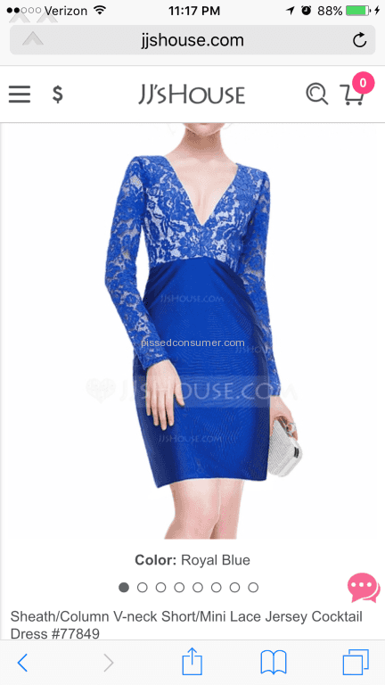 15f7db10cd 6 Jjshouse Cocktail Dress Reviews and Complaints   Pissed Consumer