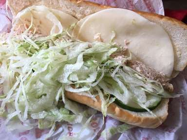 Jimmy Johns Sandwich review 122607