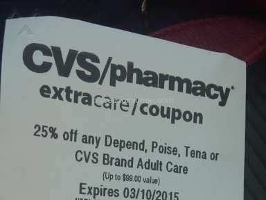 Cvs Pharmacy - Coupon Review from Owings Mills, Maryland